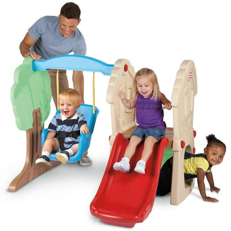 Little Tikes Hide & Seek Climber and Swing - Brown/Tan ()
