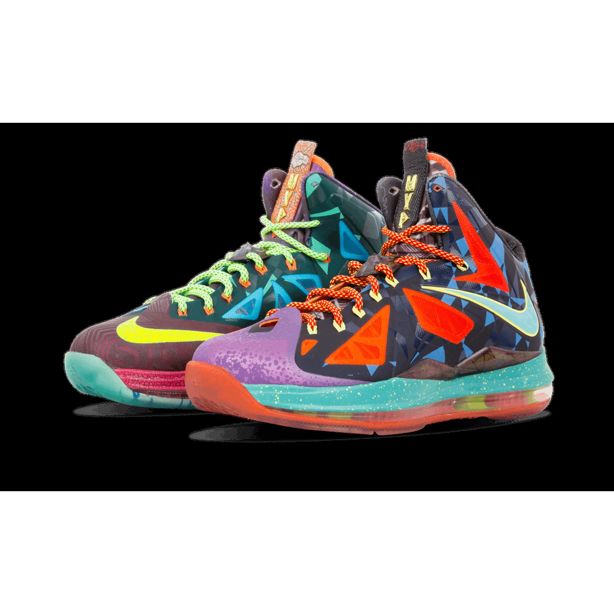 ceee13adc87 Nike - Men - Lebron 10 Premium  What The Mvp  - 618217-300 - Size 10 ...