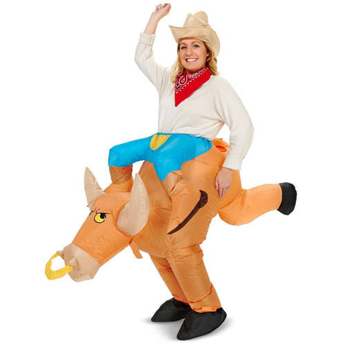 Ride-a-Bull Inflatable Adult Halloween Costume