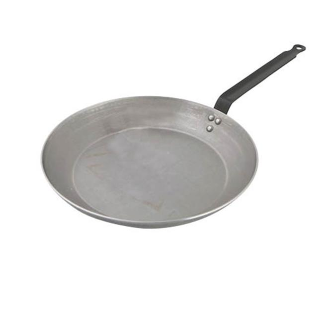 World Cuisine A4171440 Heavy Duty Carbon Steel Frying Pan - 17.75 Inches