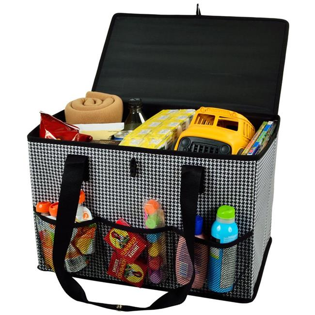 Picnic at Ascot 8023-HT Houndstooth Organizer - Houndstooth