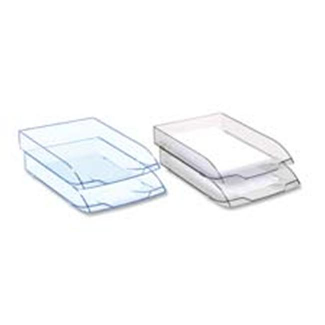 CEP CEP1472742 Letter Tray- Stackable- Ice Blue