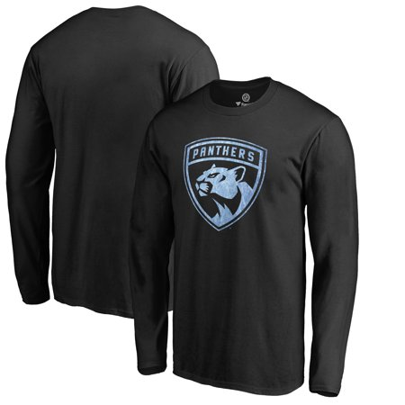 Florida Panthers Fanatics Branded Big & Tall Pond Hockey Long Sleeve T-Shirt - Black