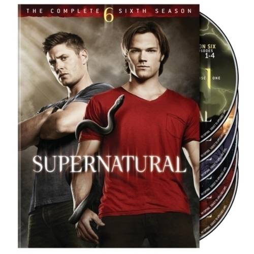 SUPERNATURAL-COMPLETE 6TH SEASON (DVD/6 DISC/FF-16X9/SP-FR-PORT-CH-THAI SUB