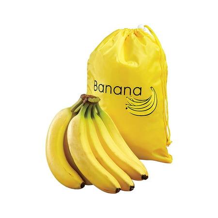 Banana Storage Bag - Yellow Banana Storage Bag Keep Bananas Fresh by Juniper's Secret