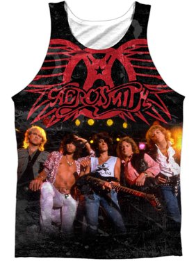 30a5655d0d5db Product Image Aerosmith Men s Stage Mens Tank White