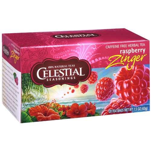 Celestial Seasonings Caffeine Free Herbal Tea, 20ct