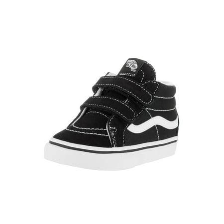 b2e54782b0 Vans - Vans VN-018W6BT   Toddler Sk8-Mid Reissue V Black White Skate Shoe  (6 M US Toddler