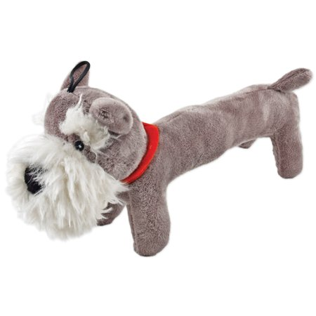 Fetch-A-Pal With Squeaker Plush Schnauzer Dog Toy