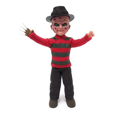 Living Dead Dolls A Nightmare on Elm Street Freddy Krueger Talking Figure