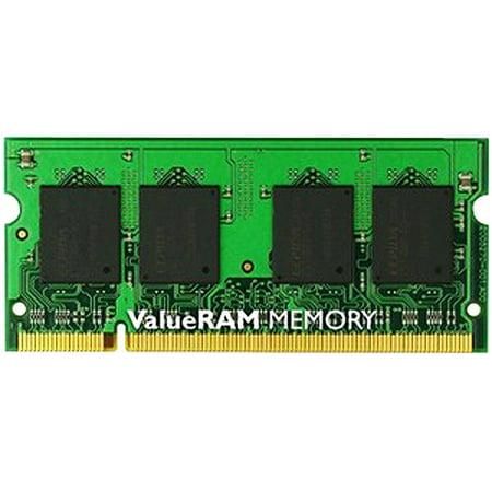 Kingston ValueRAM 2GB 1066MHz DDR3 Non-ECC CL7 SODIMM Notebook (1066 Mhz Ddr3 Notebook Memory)