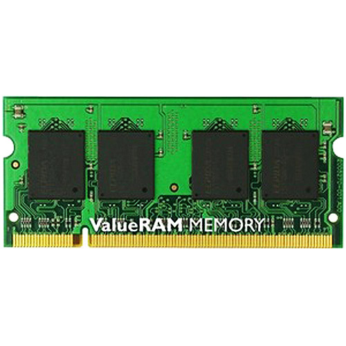 Kingston ValueRAM 2GB 1066MHz DDR3 Non-ECC CL7 SODIMM Notebook Memory