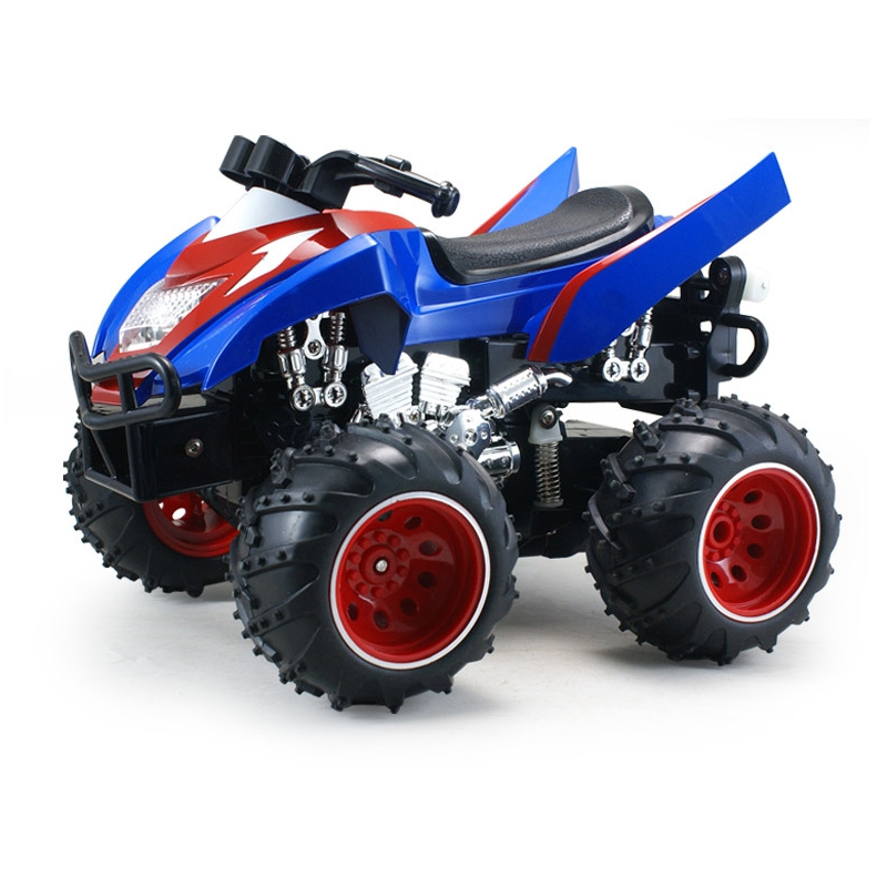 POCO DIVO Vibration RC Stunt ATV Car 2.4Ghz 4D Dynamic Motorcycle - Blue