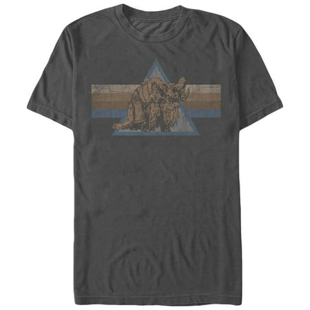 Star Wars Retro Bantha Mens Graphic T Shirt
