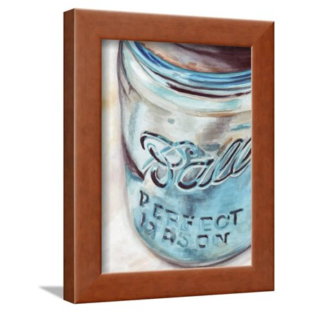 Mason Jar Art (Mason Jar I Framed Print Wall Art By)