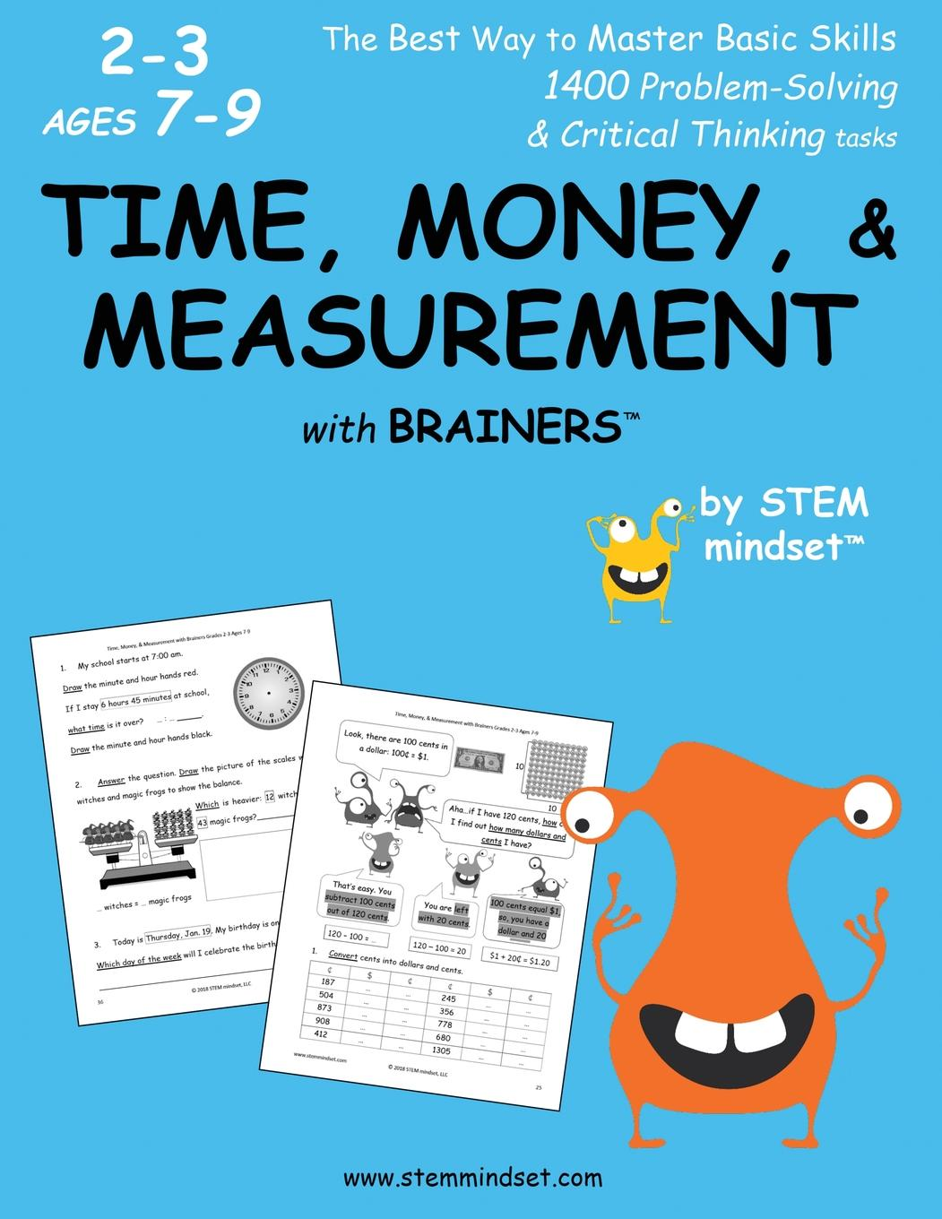 Time Money Measurement With Brainers Grades 2 3 Ages 7 9 Paperback