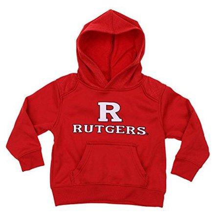 NCAA Kids Rutgers Scarlet Knights Performance Hoodie, Red (Dark Knight Hoodie)