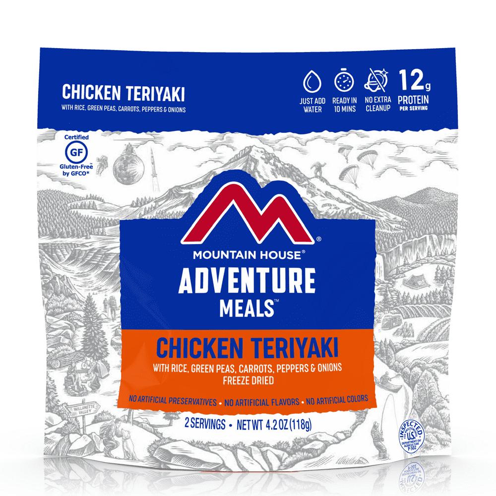 Mountain House Chicken Teriyaki with Rice, Freeze Dried ...
