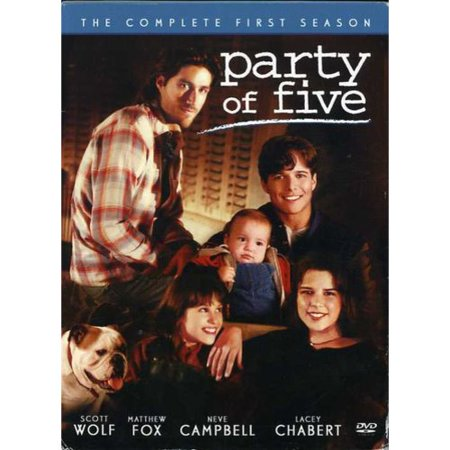 Party Of Five-1st Season [dvd/5 Disc/p&s 1.33/dolby Stereo] Nla (Sony Pictures)