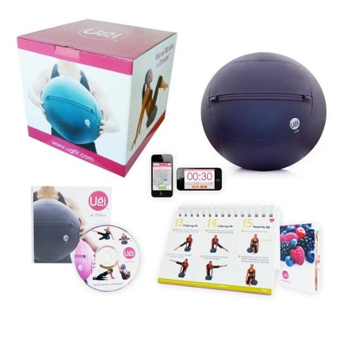 Ugi Fitness at Home 6-pound Purple Exercise Ball