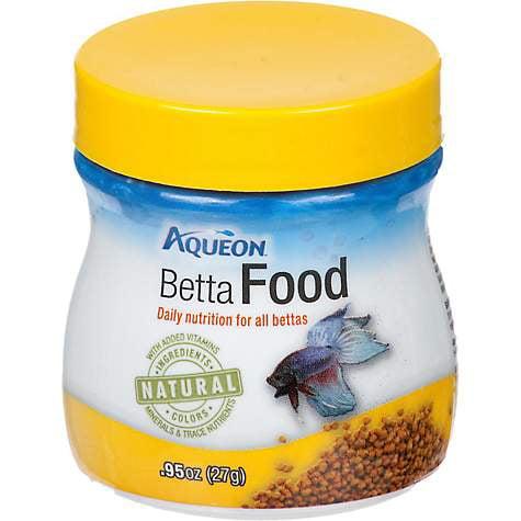 Aqueon Betta Pellets Betta Food, .95 oz (pack of 1)