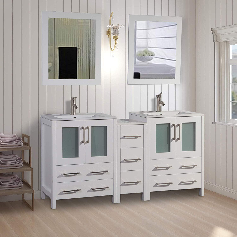 Vanity Art 60 Quot Double Sink Bathroom Vanity Combo Set 7