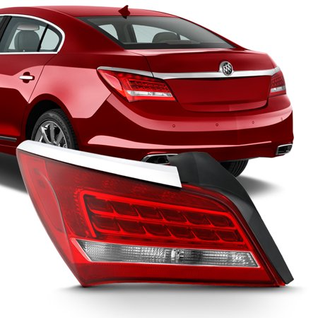 Fits 2014 2015 2016 Buick LaCrosse LED Driver Left Side Taillight Brake Lamp