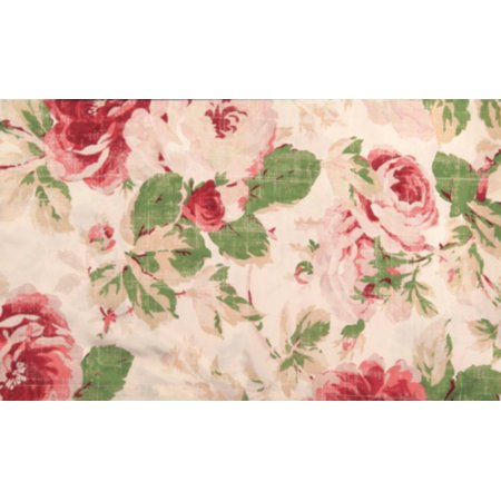 English floral window curtains walmartcom for English floral curtains