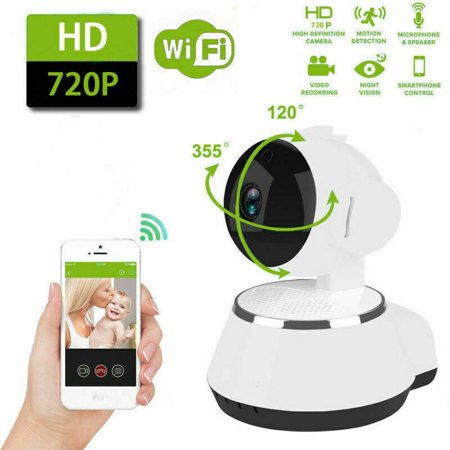 HD Wireless Wifi IP Camera Webcam Baby Pet Monitor 720P CAM Remote Home