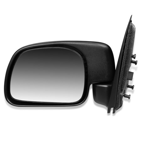Ford F450 Truck Door Mirror - For 1999 to 2010 Ford F250 F350 F450 F550 Super Duty Excursion OE Style Manual Driver / Left Side View Door Mirror F81Z17683AAB 00 01 02 03 04 05 06 07 08 09