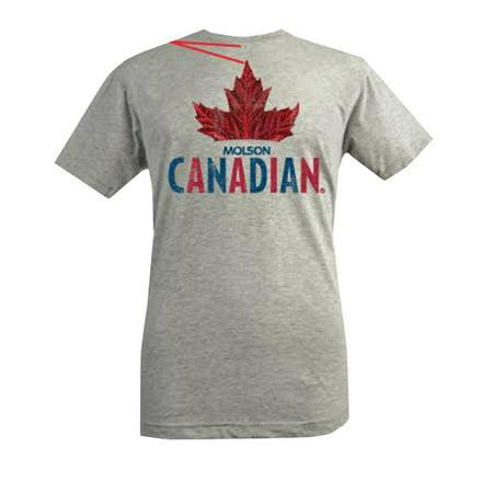 Brew City Mens Molson Canadian T Shirt