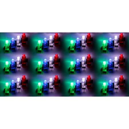 Set of 12 VT LED Light Up Party Favor Toy Finger Light 4 Packs