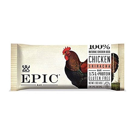 Epic - Protein Bar poulet Sriracha - 12 Bars