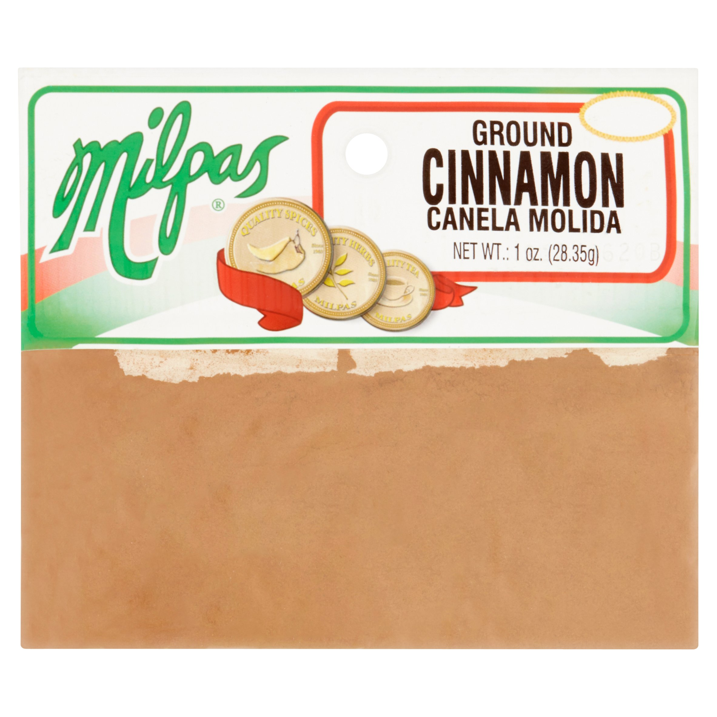 (5 Pack) Milpas Ground Cinnamon, 1 oz