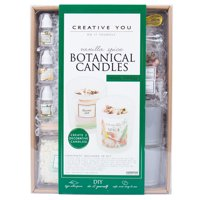 Creative You D.I.Y. Vanilla Spice Botanical Candles