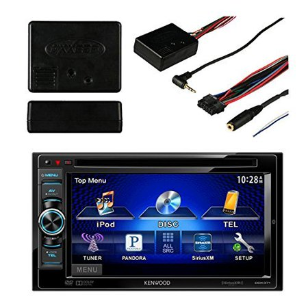 new kenwood ddx 372bt 2 din multimedia dvd receiver metra. Black Bedroom Furniture Sets. Home Design Ideas