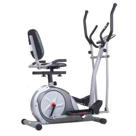 body rider brt3980 elliptical machine trainer 3 in 1 trainer workout