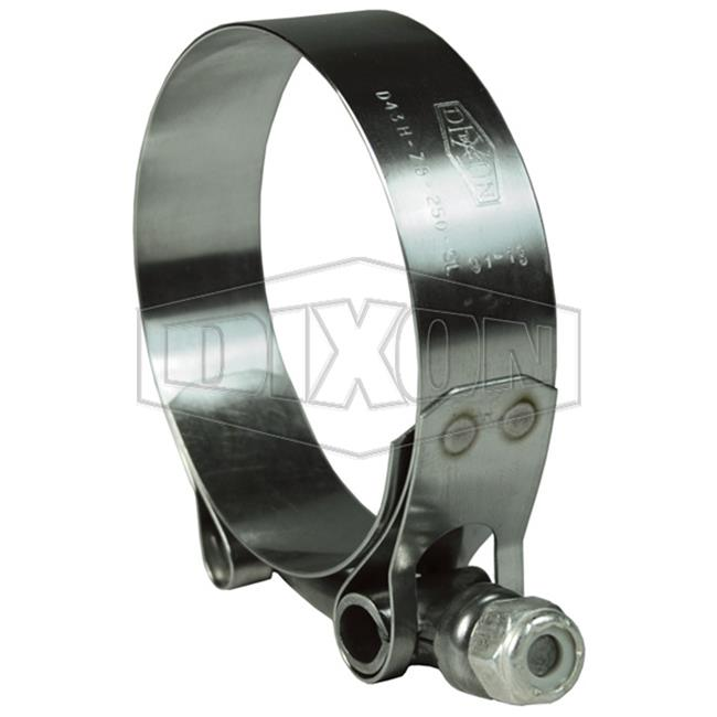 Dixon Valve 238-STBC188 Stainless Steel T Bolt Clamp - 1....