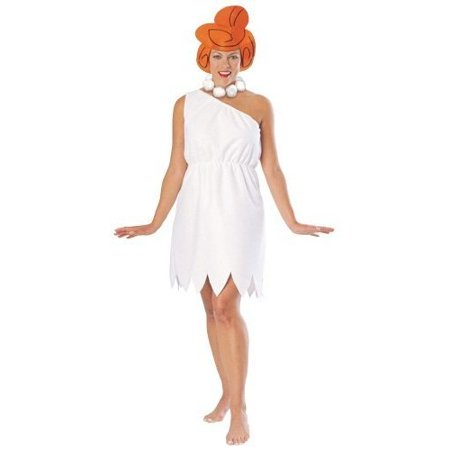 Wilma Flintstone GT Adult Halloween Costume, Size: Women's - One Size - Jetsons Plus Size Halloween Costumes
