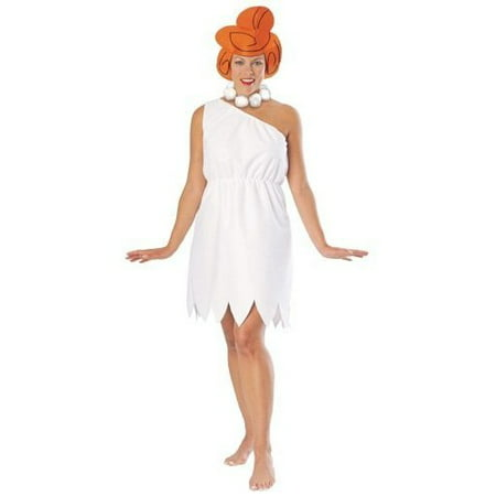 Wilma Flintstone GT Adult Halloween Costume, Size: Women's - One Size (Flintstone Halloween Costume)