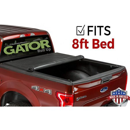 Gator Roll Up (fits) 2017-2019 Ford Super Duty F250 F350 8 FT. Bed Only Soft Tonneau Truck Bed Cover Made in the USA