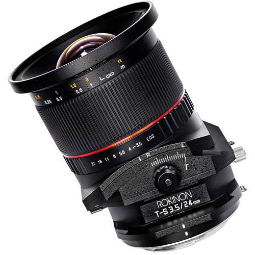 Rokinon 24mm F3.5 Tilt Shift Lens for Canon EF Mount