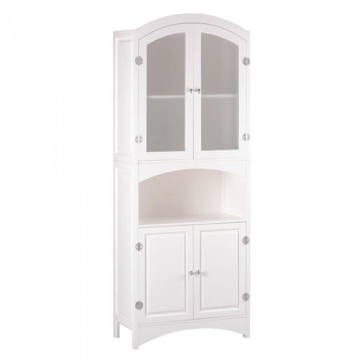 Storage Cabinet Modern Standing Wooden