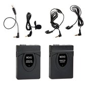 Best Movo-wireless-microphones - Movo 2.4GHz Wireless Lavalier Microphone System (164' Range) Review