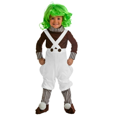 Oompa Loompa Costume for Toddlers - Oompa Loompa Costume Toddler