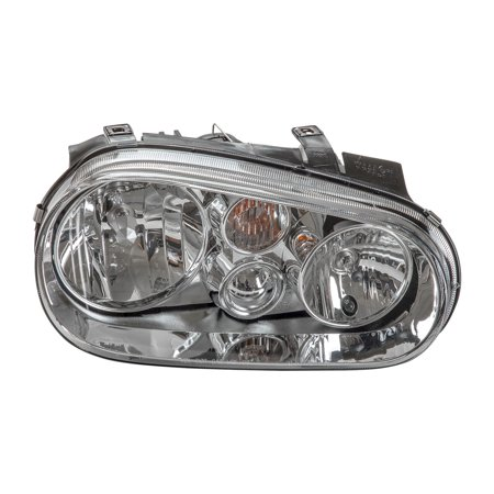 TYC 20-6473-90 Right Headlight Assembly for 1999-2002 Volkswagen Golf VW2503113
