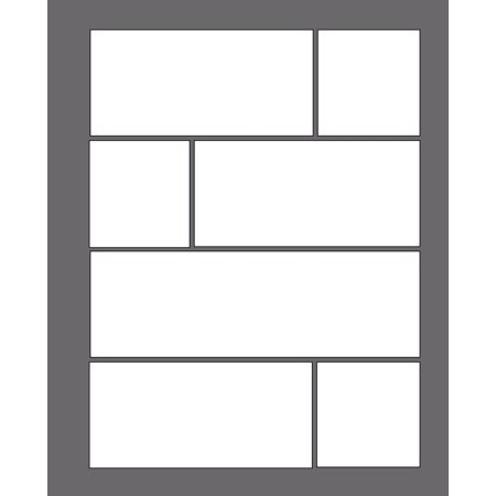 My Best Blank Comic Book - Plain and Simple : Multi-Template, Single-Sided Comic Strip Notebook 7.5 X 9.25, 130 (Best Slots On The Strip)