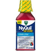 Vicks NyQuil Severe Cold & Flu Relief Liquid
