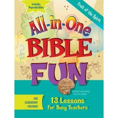 All-In-One Bible Fun for Elementary Children: Fruit of the Spirit : 13 Lessons for Busy - Fruits Of The Spirit Craft