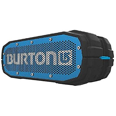 Burton Limited Edition BRAVEN BRV-X Portable Bluetooth Speaker [12 Hours][Waterproof] 5200 mAh Power Bank- Scout Black / Blue